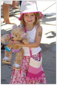 Six-year-old Abigail Taylor, before she experienced a drain entrapment injury in June 2007