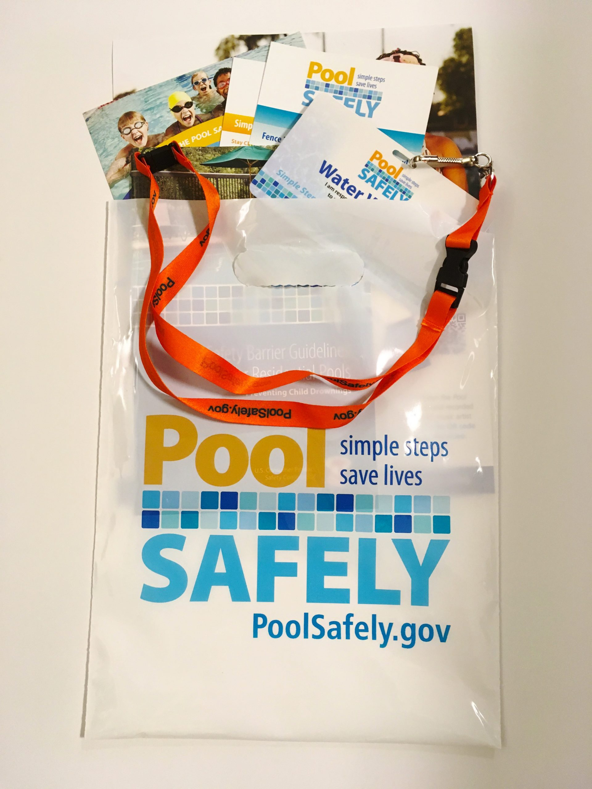 pool safely materials packaged specifically for homeowners.
