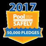 pledge badge touting 50000 signatures.