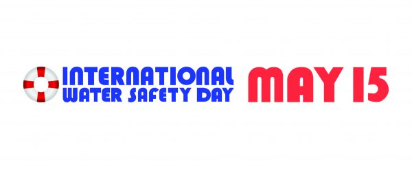 logo for international water safety day on may 15.