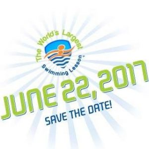 worlds largest swimming lesson save the date for June 22nd 2017.