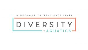 diversity in aquatics logo.