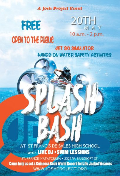 Splash Bash poster