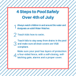 graphic outlining safety steps