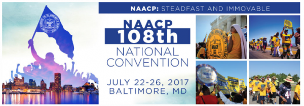 NAACP Annual Convention Banner
