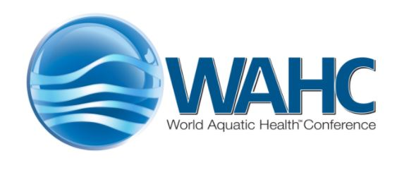 world aquatic health conference logo.