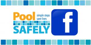 pool safely logo next to the facebook logo.