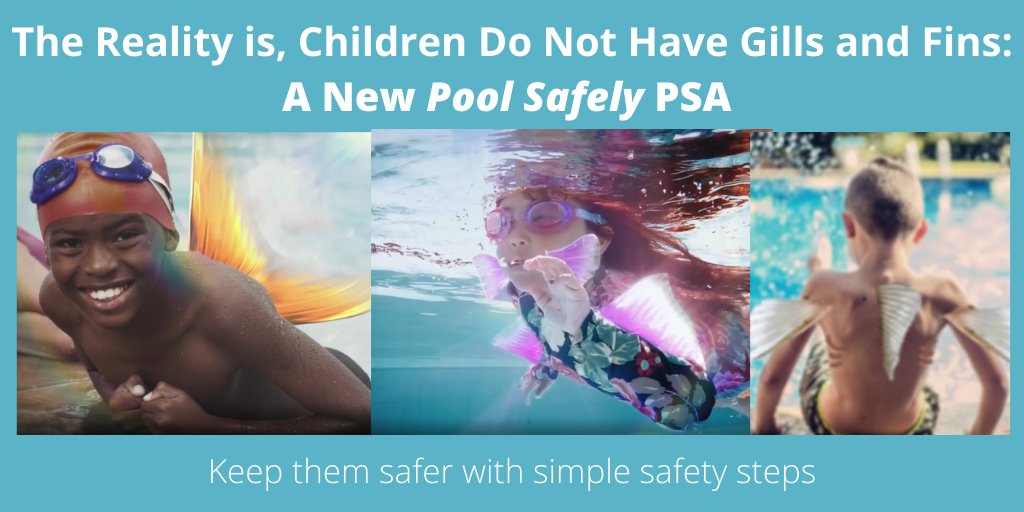 closeups of kids with fins in a pool.